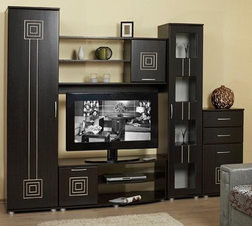 шкаф угловой и полка под телевизор
